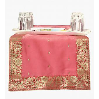 Rose - Hand Crafted Table Runner (Inde)
