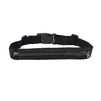 Boolavard® TM elastische Doppel-Reißverschluss-Tasche Multi-funktionale Sport Taschen Sport Handy-Gürteltasche Taille Packs