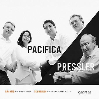 Brahms / Schumann / Pacifica Quartet / Pressler - Brahms: Piano Quintet Op 34 / Schumann [CD] USA import