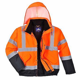 sUw - Hi-Vis veiligheid werkkleding-blouson met twee Toon