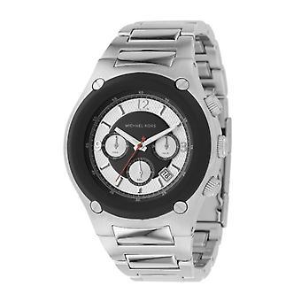 Michael Kors Chronograph Mens prata Strap Watch MK8101