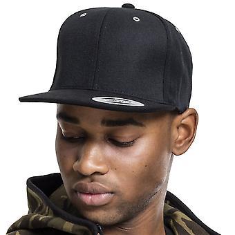 Flexfit BOOTS SUEDE Snapback Cap - Black