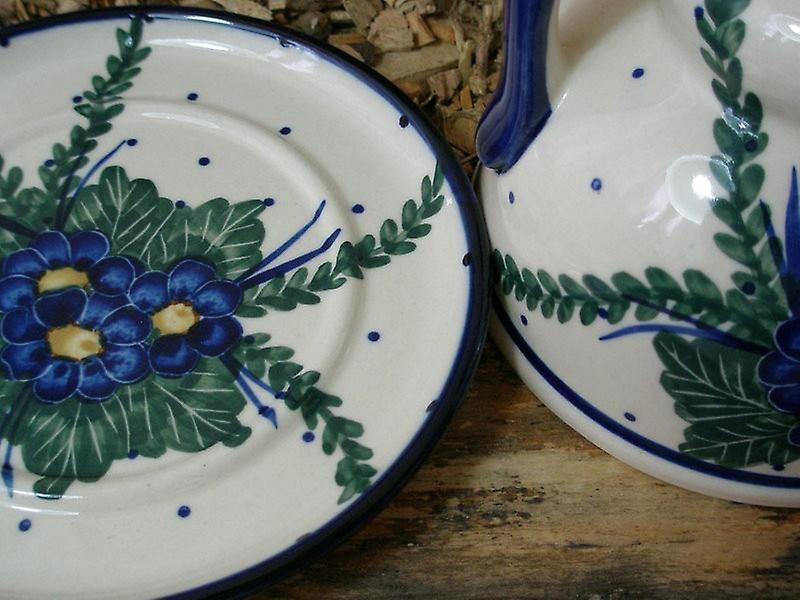 Bunzlauer Käsemarie, Unikat 47, Ø 14 cm - Bunzlauer Keramik Geschirr - BSN 5361