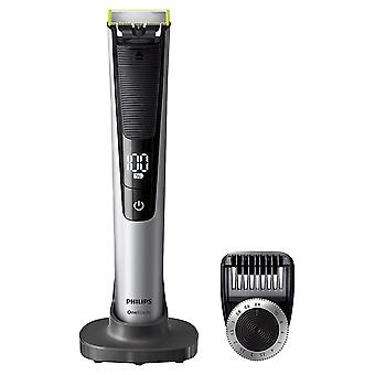Philips OneBlade Pro QP6520/30 Hybrid Trimmer and Shaver (14-Length Comb)