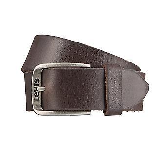 Levi BB´s belts men's belts leather jeans belt Brown 3148