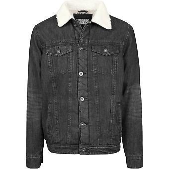 Urban classics jacket Sherpa denim