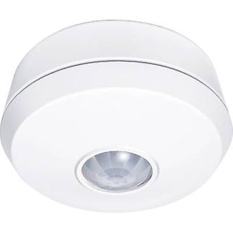 GEV 018709 Surface-mount, Ceiling, Recess-mount, Flush mount PIR motion detector 360 ° Relay White IP20