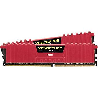 Kit di PC RAM Corsair Vengeance® LPX Red CMK16GX4M2B3200C16R 16 GB 2 x 8 GB DDR4 RAM 3200 MHz CL16 18-18-36