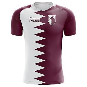 2020-2021 قطر مفهوم الوطن لكرة القدم قميص - أطفال