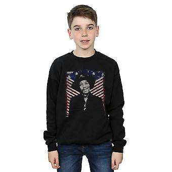 Jimi Hendrix Boys Americana Photo Sweatshirt