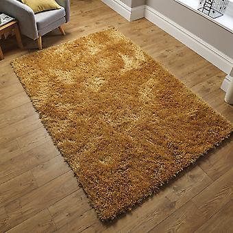 Dazzle Shaggy tapijten In oker