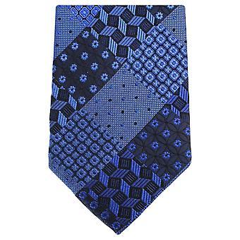 Knightsbridge kaulavaatteita Multi kuvio kukka Tie - sininen