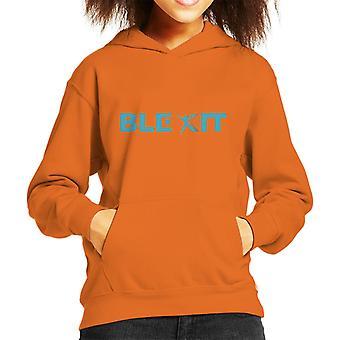 Blexit Logo Kid's Hooded Sweatshirt