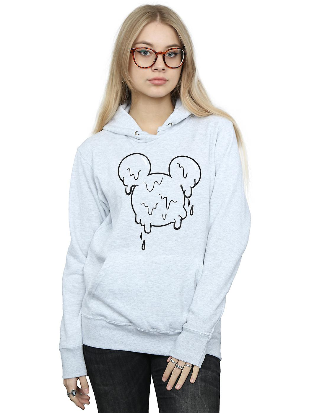 Disney Women's Mickey Mouse Ice Cream Head Hoodie