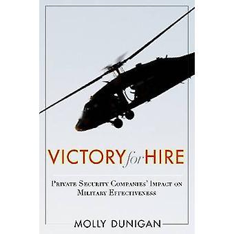 Overwinning voor verhuur - privé veiligheidsbedrijven Impact op militaire Effe