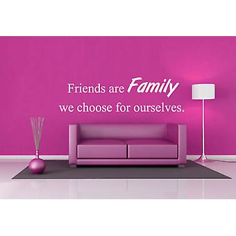 هم أصدقاء الأسرة نختار أنفسنا ملصق حائط