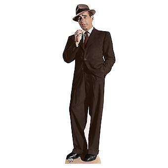 Humphrey Bogart Lifesize tektury wyłącznik / Standee