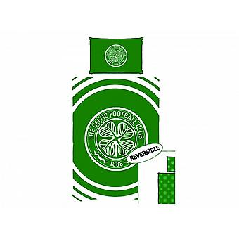 Celtic FC Pulse Single Duvet & Pillowcase Set