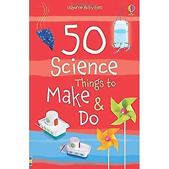 50 dingen die wetenschap te maken en te doen