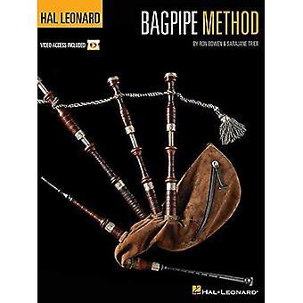 Bowen Ron Hal Leonard Bagpipe Method Bagp Bk/Dvd