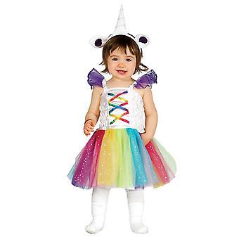 Toddlers Baby Unicorn Fancy Dress Costume