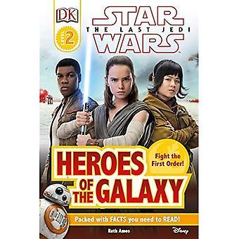 DK Reader L2 Star Wars the Last Jedi Heroes of the Galaxy (DK Readers)