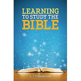 Leren om te bestuderen van de Bijbel deelnemer boek