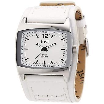 Just Watches 48-S10628-WH-wrist watch, man, skin
