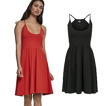 Urban classics ladies - spaghetti stretch summer dress
