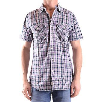 Woolrich Ezbc033006 Men's Multicolor Cotton Shirt