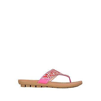 Lotus Patti flache Sandalen in Pink