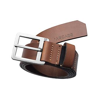 Arcade Padre Leather Belt in Brown