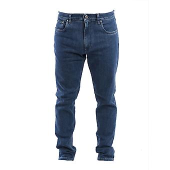 Corneliani 834jg29120199007 Men's Blue Cotton Jeans
