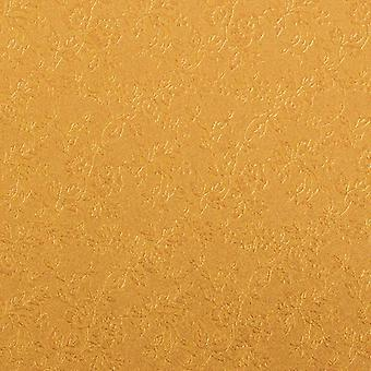 Craft perfect by Tonic Studios A4 luxe Reliëfkaart honing goud rozen