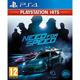 Need for Speed PS4-spil (PlayStation hits)