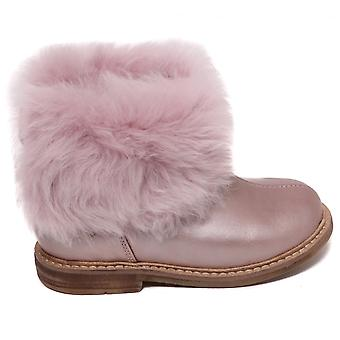 Pom D'Api Retro Chabraque Ankle Boot, Blush Rose