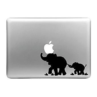HAT PRINCE Snygg Dekal Klistermärke Macbook Air/Pro - Elefant