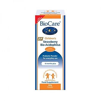 BioCare Children's Strawberry BioAcidophilus 60g (13060)