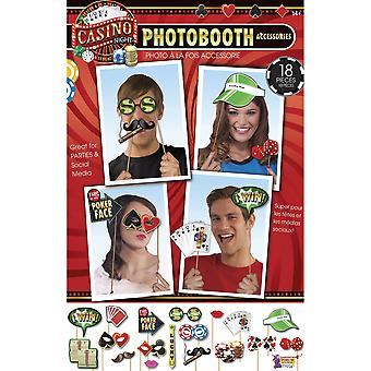 Bristol Novelty Casino Photo Booth Kit (18 piezas)