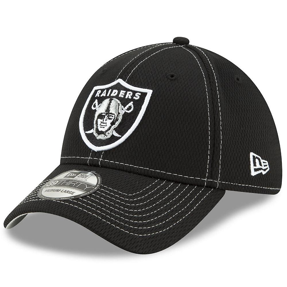 New Era NFL Onfield Sl Rd 39Thirty Cap ~ Oakland Raiders