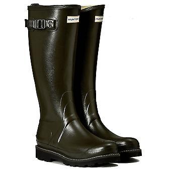 Hunter Lady Balmoral Ii Poly Lining Wellington Boot - Dark Olive