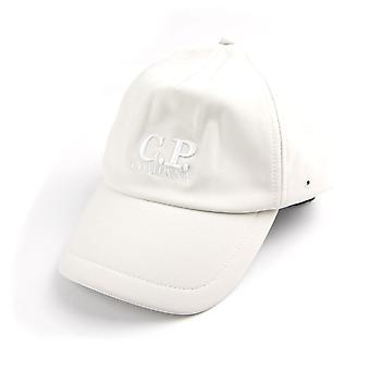 CP Company Soft Shell Cap Weiß