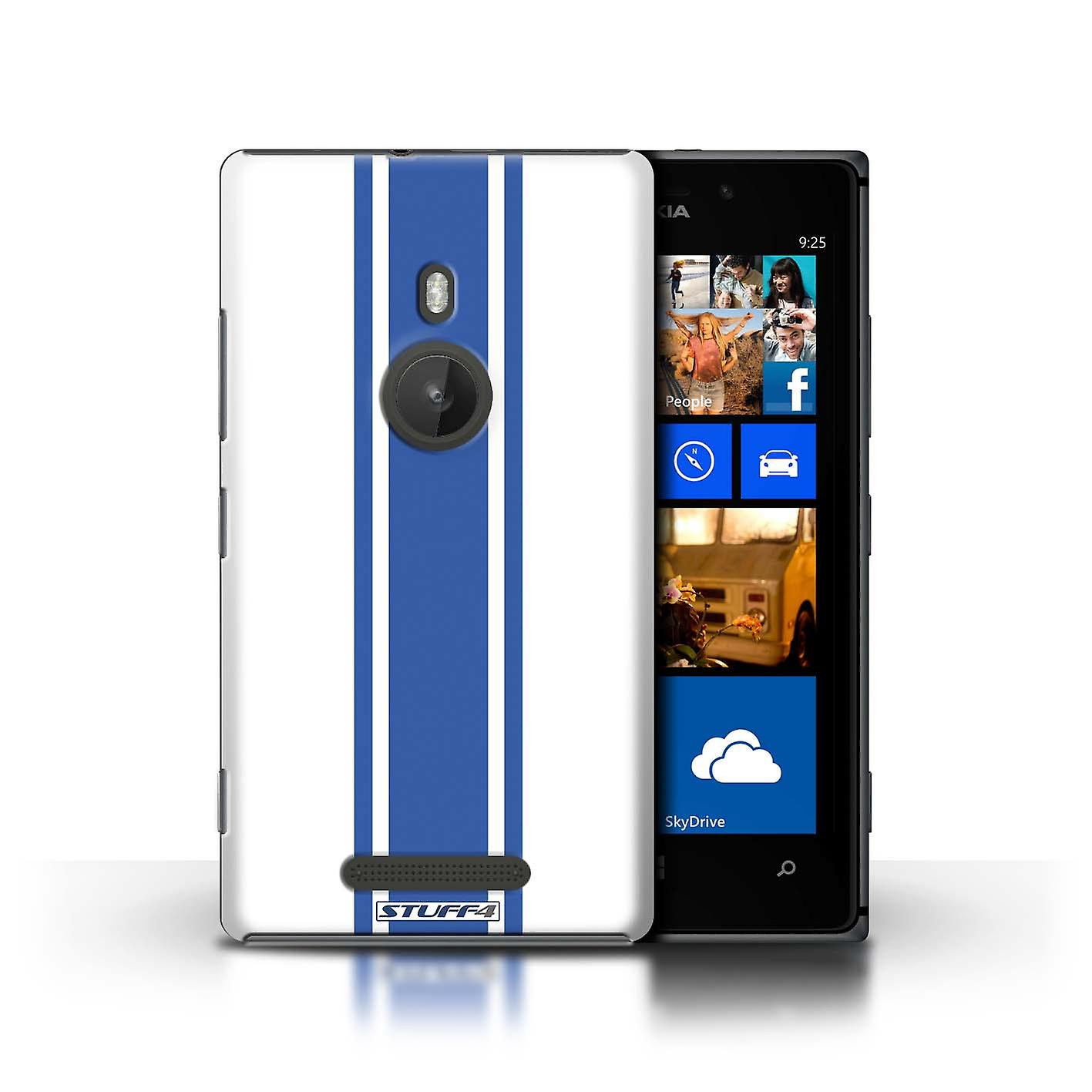 STUFF4 Case/Cover for Nokia Lumia 925/American Muscle/Racing Car Stripes