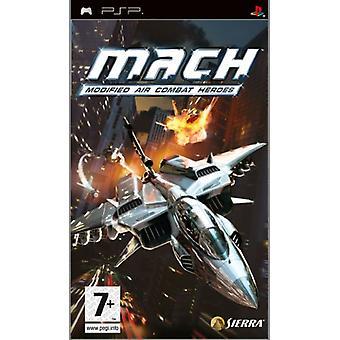 M.A.C.H Modified Air Combat Heroes (PSP) - Nouveau