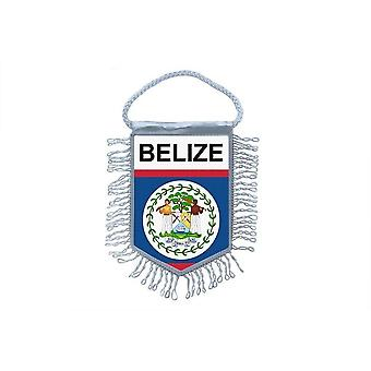 Flag Mini Flag Country Car Decoration Belize