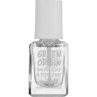 Barry M Green Origin Nail Polish Collection - Basecoat & Topcoat (GOBTC)