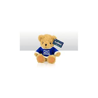 Union Jack Wear Teddy Bear With Scotland Jumper - 15cm