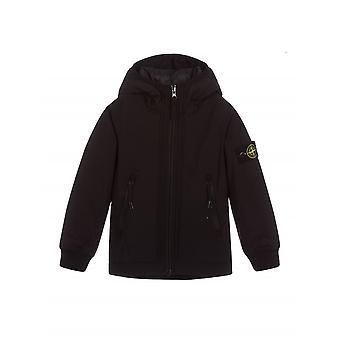 Stone Island Junior Black Padded Soft Shell Jacket