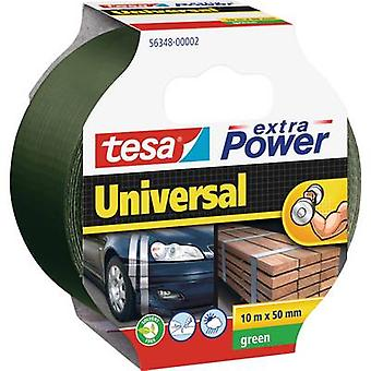 tesa 56348-02-05 Kangasteippi tesa® Extra Power Green (L x W) 10 m x 50 mm 10 m