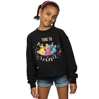 Disney Girls Princess Time To Sparkle Sweatshirt